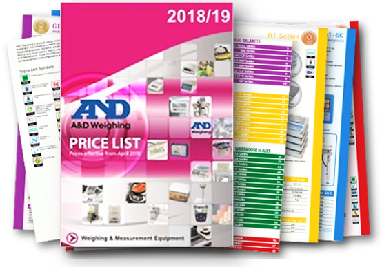 a d weighing latest pricelist and catalogue a d weighing