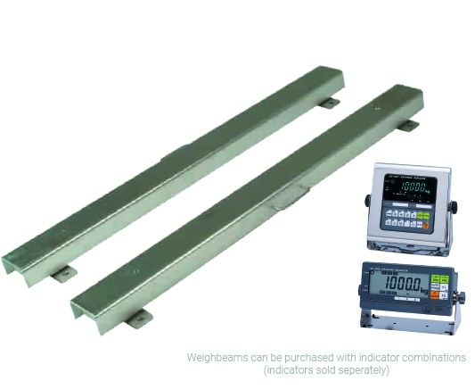 A&D Stainless Steel Weighbeams