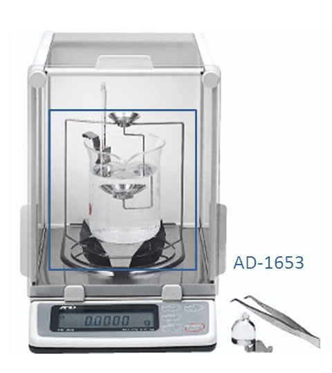 AD-1653 & AD-1654 Density Determination with balances
