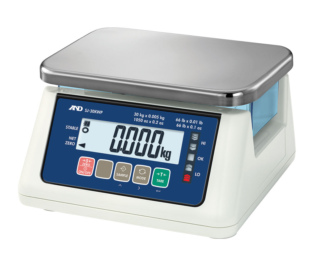 SJ-WP Compact Traffic Lights Benchtop Scale