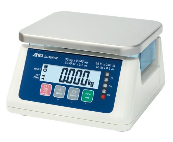 SJ-WP Compact Traffic Lights Bench Scale