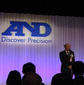 A&D Weighing celebrates its 40th anniversary in Tokyo