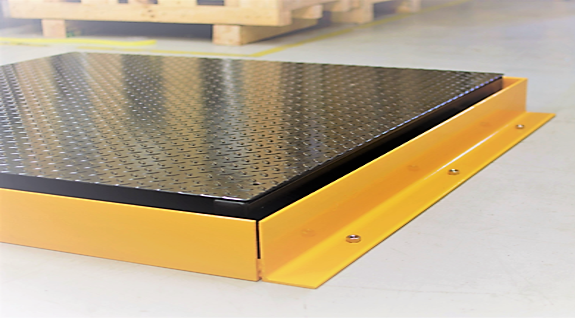 Customised Floor Scale Protection Barriers