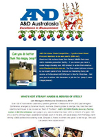 A&D Weighing Newsletter December 2012