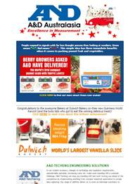 A&D Weighing Newsletter December 2016