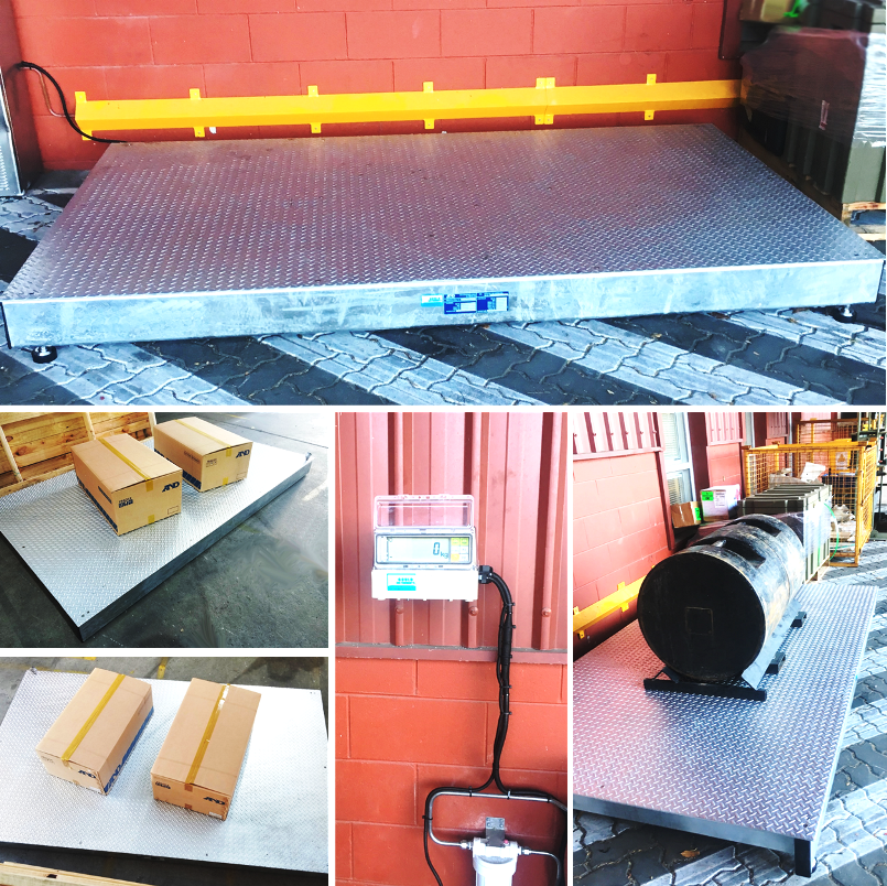 Large Capacity Pallet Scale