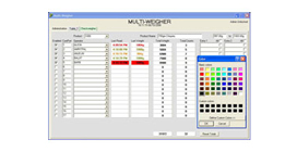 Money saving Multiweigher 3000 Reporting Software